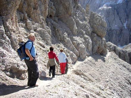 Klettersteig Rotwand : Sextner rotwand rotwandspitze klettersteige bergtouren